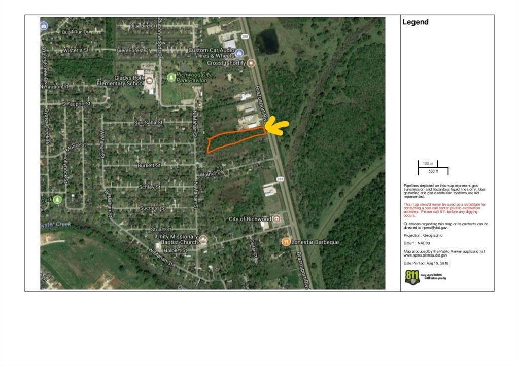 Land for Sale at 0 N Hwy 288b Brazosport Blvd Highway Richwood, Texas 77531 United States