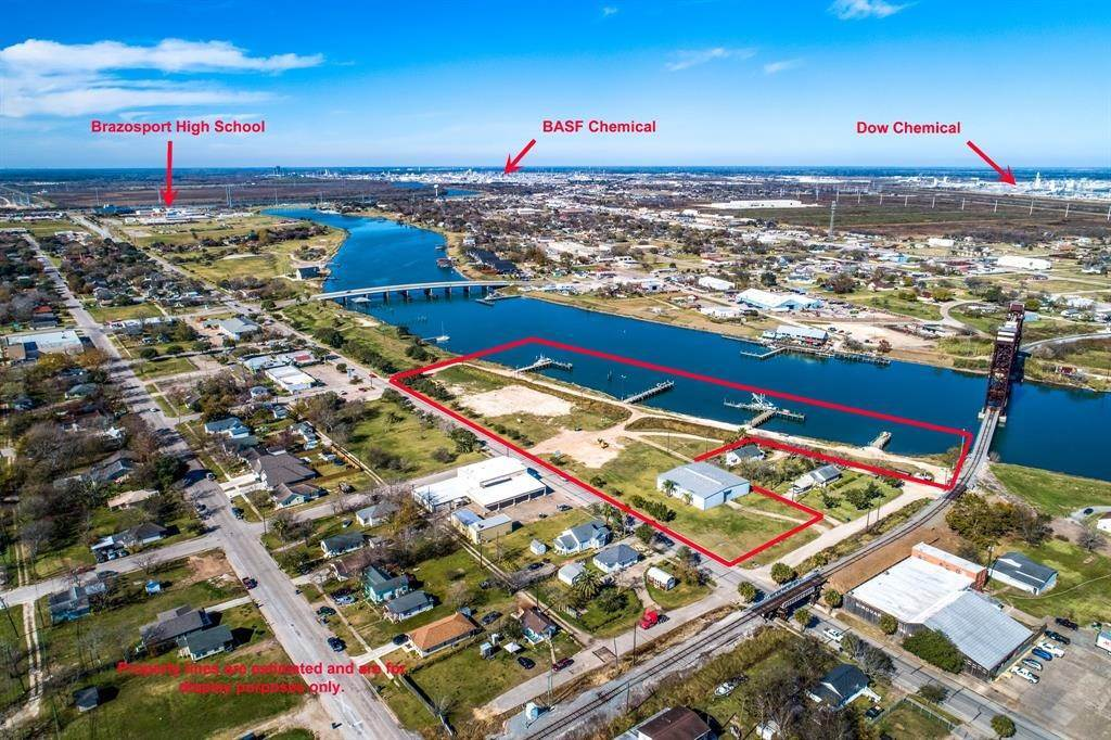 Land for Sale at 710 W 2nd Street Freeport, Texas 77541 United States
