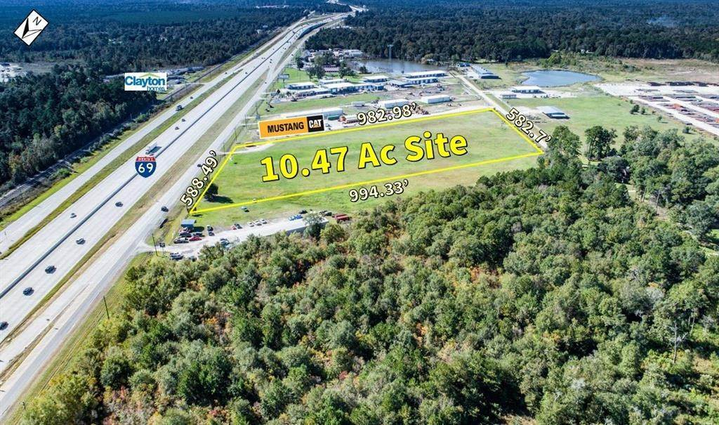 Land for Sale at 000 Us Hwy 59 Splendora, Texas 77372 United States