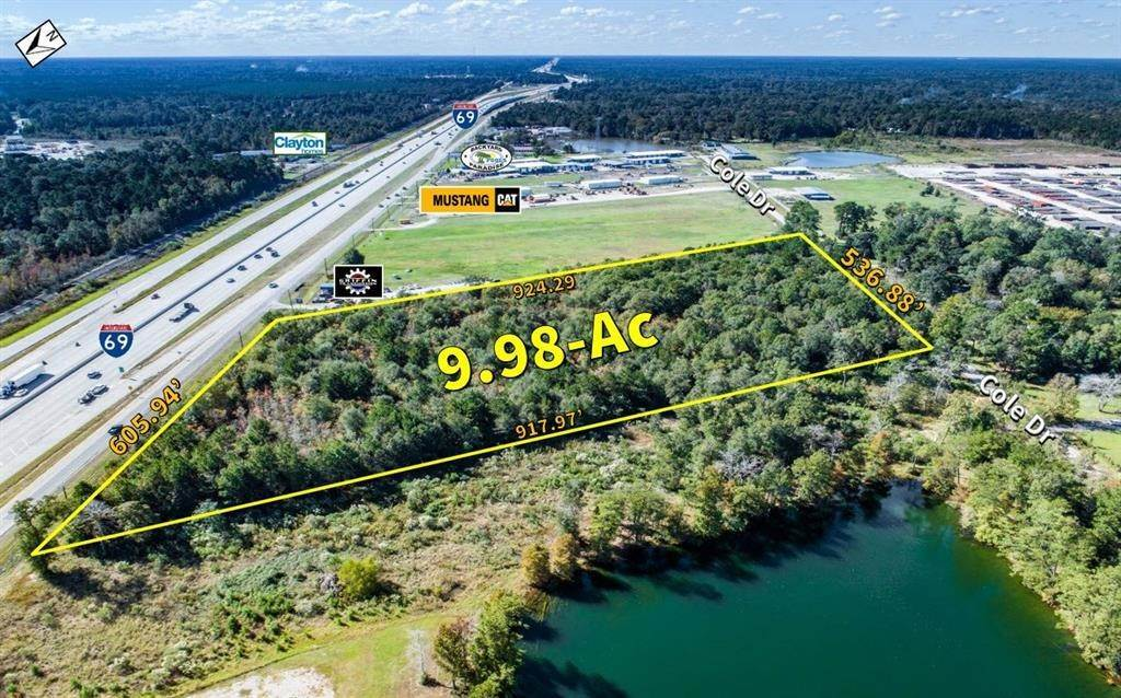Land for Sale at 000 Highway 59 Splendora, Texas 77372 United States