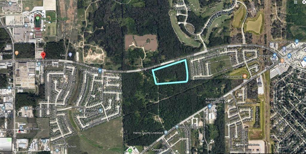 Land for Sale at 00 Will Clayton Parkway Humble, Texas 77396 United States