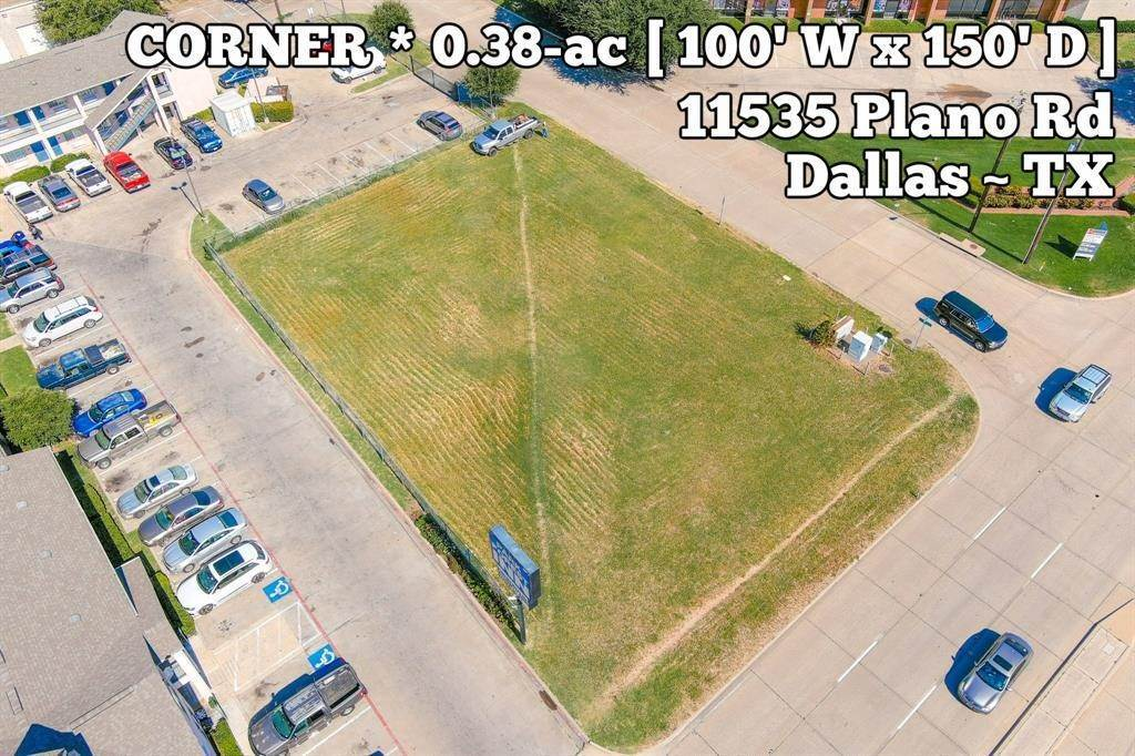 Land for Sale at 11535 Plano Road Dallas, Texas 75243 United States