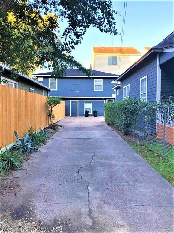 2. Single Family Homes for Rent at 1509 1/2 Bonner Street #Unit A 1509 1/2 Bonner Street Houston, Texas 77007 United States