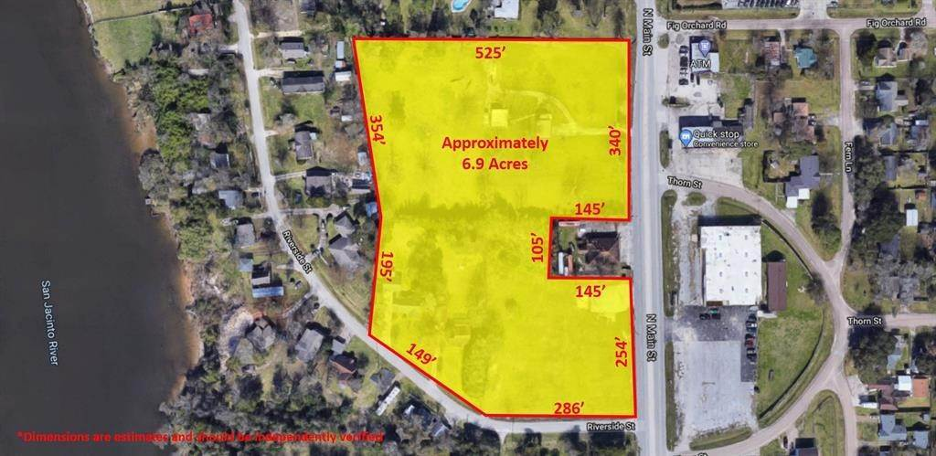 Land for Sale at 1016 N Main Street Highlands, Texas 77562 United States