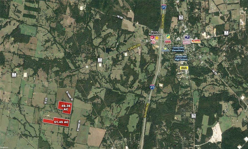 Land for Sale at 0 Cr-420 Centerville, Texas 75833 United States