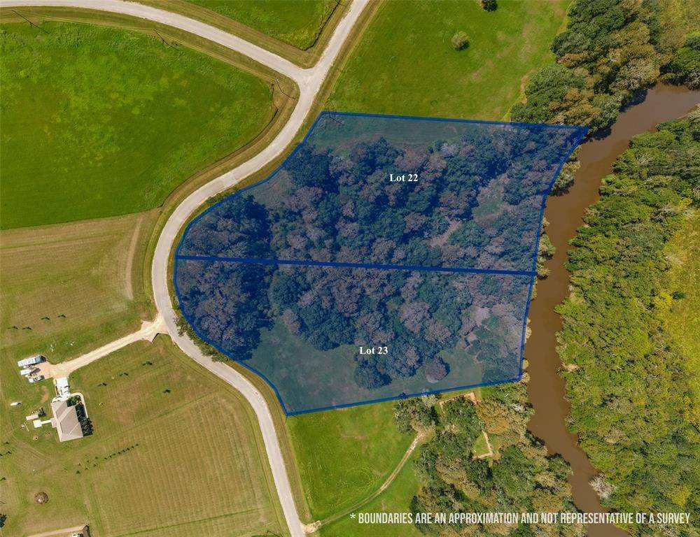 Land for Sale at Lot 23 River Hollow Way Blessing, Texas 77419 United States