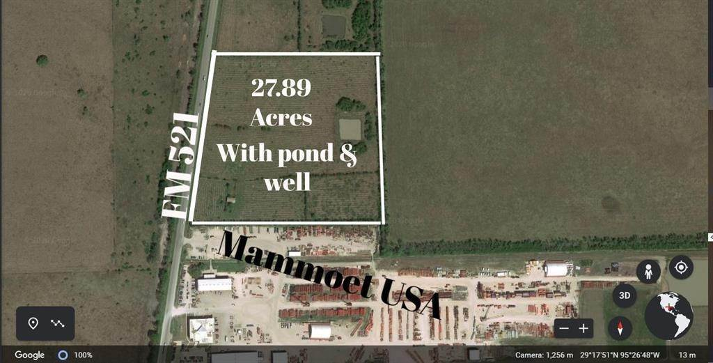 Land for Sale at Abst 104, 122, 71 Fm 521 Rosharon, Texas 77583 United States