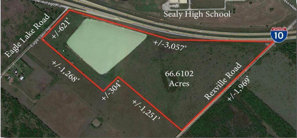 Land for Sale at 0 I-10 Frontage Road Sealy, Texas 77474 United States