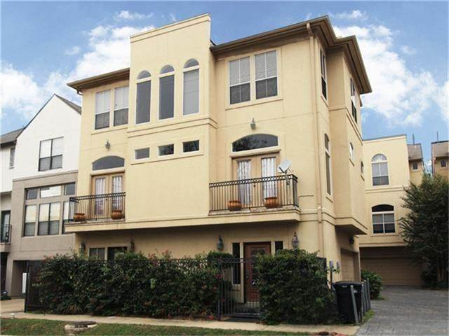 Condo / Townhouse for Rent at 4408 Feagan Street #A 4408 Feagan Street Houston, Texas 77007 United States