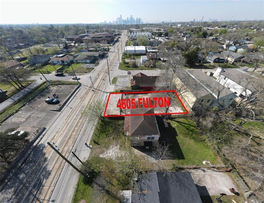 Residential Lots & Land for Rent at 4605 Fulton Street Houston, Texas 77009 United States