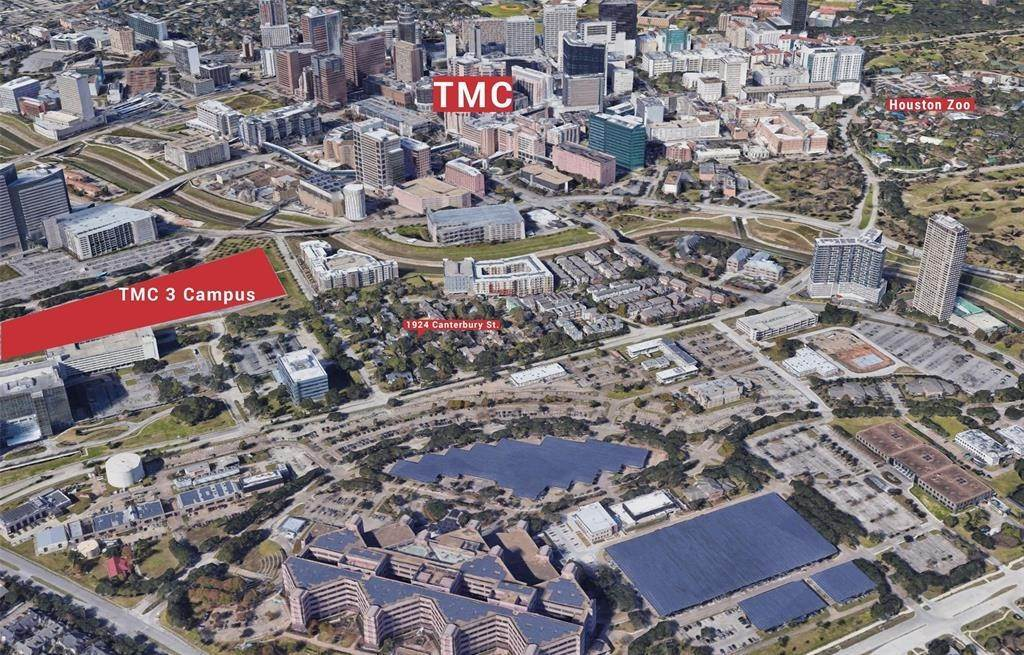 Land for Sale at 1924 Canterbury Street Houston, Texas 77030 United States