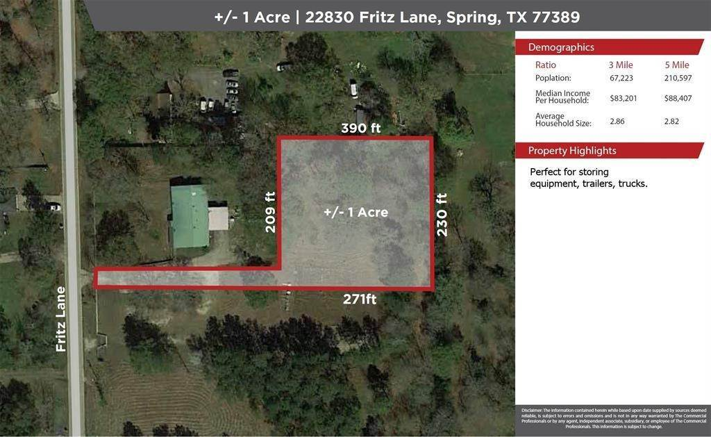 Homes and/or Acreage for Rent at 22830 Fritz Lane Spring, Texas 77389 United States