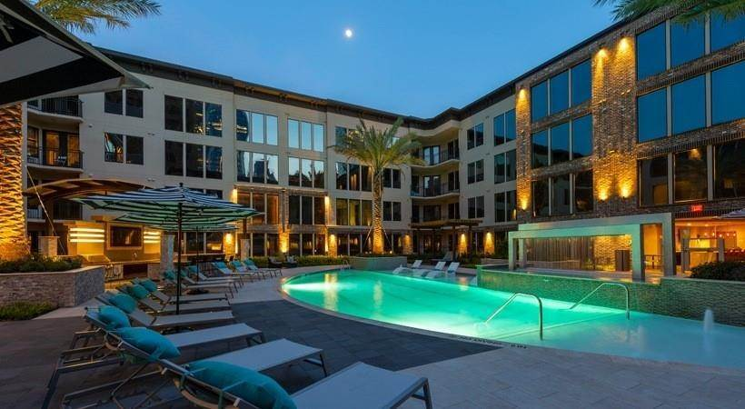 15. High or Mid-Rise Condo for Rent at 1414 Texas Ave #740 1414 Texas Ave Houston, Texas 77002 United States