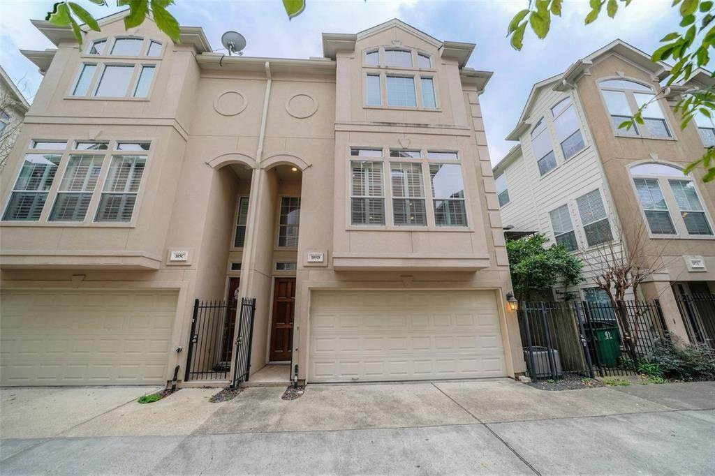 3. Condo / Townhouse for Rent at 105 Detering Street #D 105 Detering Street Houston, Texas 77007 United States