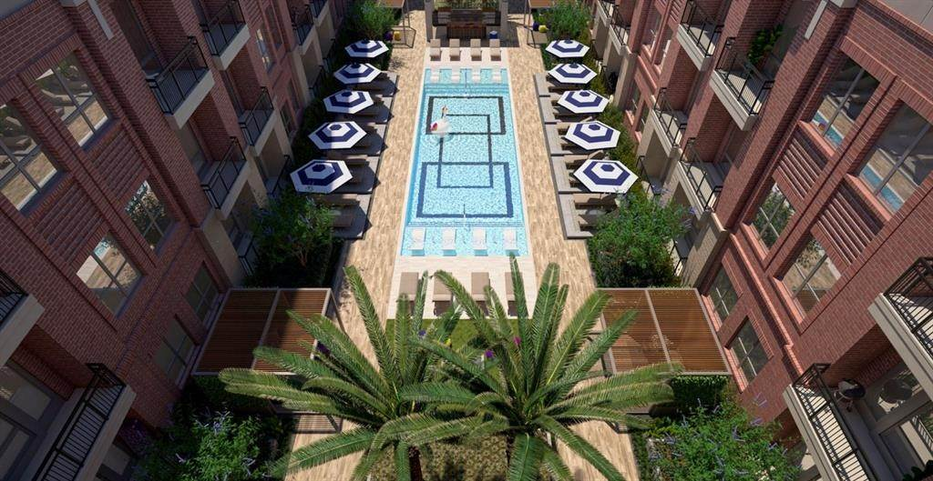18. High or Mid-Rise Condo for Rent at 160 Birdsall Street #1323 160 Birdsall Street Houston, Texas 77007 United States
